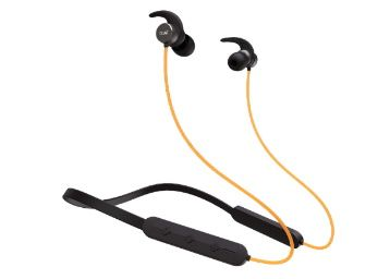 Flat 57% off on boAt Rockerz 255 Pro Fast Charging Bluetooth Headset (Blazing Yellow) At Rs. 1499