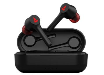 boAt Airdopes 291 Twin Wireless Ear-Buds (Active Black) at Rs. 1999