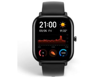 Huami Amazfit GTS Smart Watch(Obsidian Black) at Rs. 9999