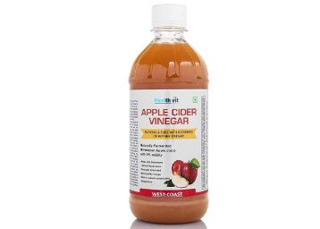 HealthVit Apple Cider Vinegar with Mother Vinegar, Raw, Unfiltered and Undiluted - 500 ml at Rs. 199