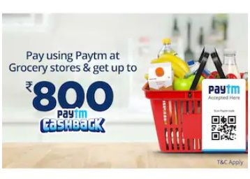 Reliance Retail - Up to Rs.800 cashback at Reliance Retail when you pay using Paytm
