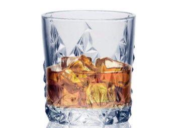 Soogo Jordon Whisky Glass Set, 6-Piece at Rs. 189