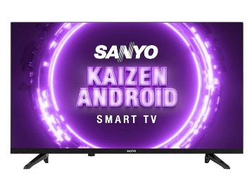 Sanyo 80 cm (32 inches) Kaizen Series HD Ready Smart Certified Android IPS LED TV XT-32A170H (Black) (2019 Model) at Rs. 10999