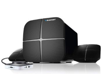 Flat 50% off on Blaupunkt SP212 Bluetooth Home Audio Multimedia 2.1 Speaker (Black) at Rs. 2999
