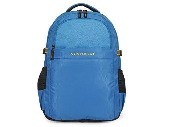 Flat 45% off on Aristocrat 36 Ltrs Blue Casual Backpack at Rs. 1155