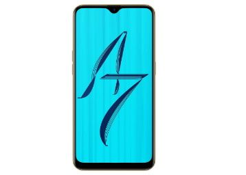 Flat 47% off OPPO A7 (Glaring Gold, 3GB RAM, 64GB Storage) at Rs. 8990