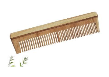 The Legend Organic Neem Wood Comb (Brown) at Rs. 199
