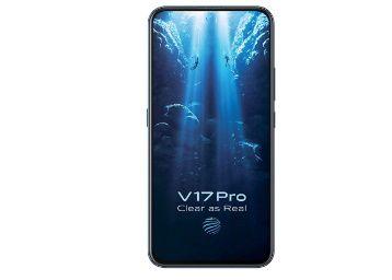 Vivo V17 Pro (Midnight Ocean, 8GB RAM, 128GB Storage) at Rs. 25990