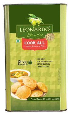 Flat 60% Off On Leonardo Pomace Olive Oil (Tin), 3L at Rs. 1185
