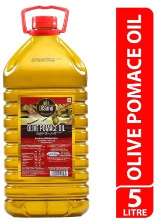 Flat 62% Off On DiSano Olive Pomace Oil, Ideal for All Indian Cooking, 5L at Rs. 1454