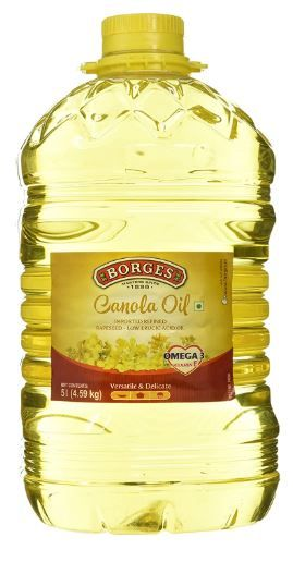 Flat 53% Off On Borges Canola Oil, 5L at Rs. 899