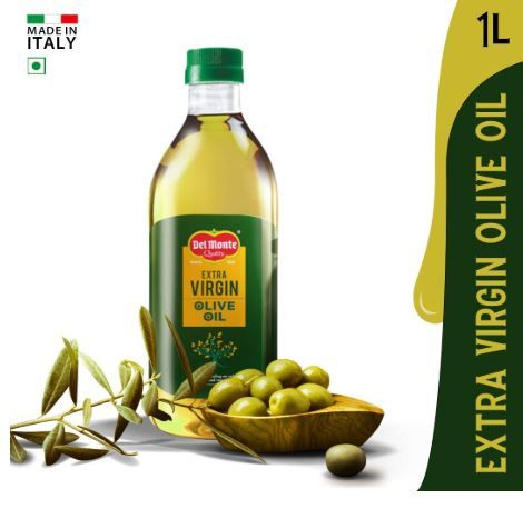 Flat 55% Off On Del Monte Extra Virgin Olive Oil PET, 1L at Rs. 675