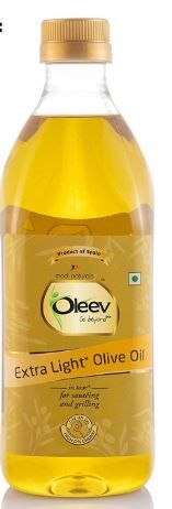 Flat 59% Off on Oleev Extra Light Olive Oil, Saueting and Roasting PET Bottle, 500 ml at Rs. 329