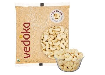 Amazon Brand - Vedaka Popular Whole Cashews, 200gm At Rs.235