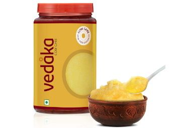 Flat 13% off on Amazon Brand - Vedaka Cow Ghee, 1 L at Rs. 480
