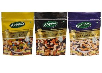 Happilo Premium Dry Fruits, 600 (Trail Mix, Nut Mix, Party Mix) At Rs.703