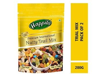 Happilo Premium International Trial Mix, 200g (Pack of 2) At Rs.547