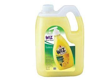 Wiz pH-Balanced Hand Care Lemon Liquid Handwash Refill Can -5 L At Rs.700