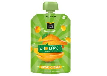 Flat 40% off on Minute Maid Wholefrüt Mango Orange Purée – Pack of 5 x 100 g at Rs. 149