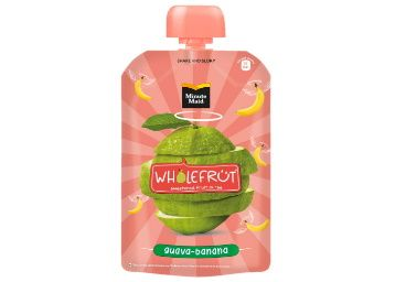 Flat 40% off on Minute Maid Wholefrüt Guava Banana Purée – Pack of 5 x 100 g at Rs. 149