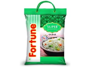 Fortune Super Dubar Basmati Rice, 5 Kg At Rs.495