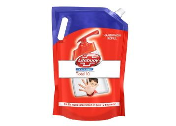 Lifebuoy Total 10 Active Silver Formula-Germ Protection Handwash Refill, 1.5 L at Rs. 189