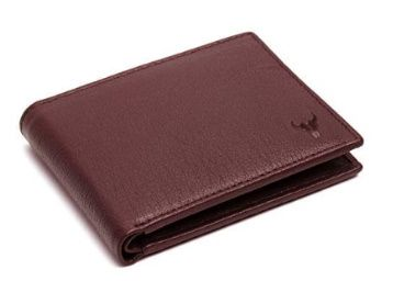 Flat 80% off on Napa Hide RFID Protected Genuine High Quality Leather Wallet for Men at Rs. 299