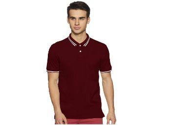 Bradstreet by Arrow Men Plain Regular Fit Polo Shirt At Rs.359