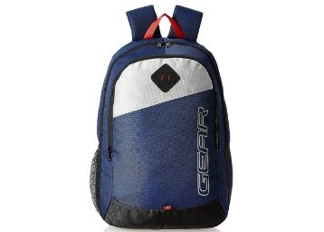 Gear 21 Ltrs Blue Casual Backpack At Just Rs.299