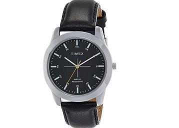 Timex Analog Black Dial Men