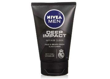 10% Coupon Off - NIVEA Men Face Wash, Deep Impact Intense Clean, 100g at Rs. 134