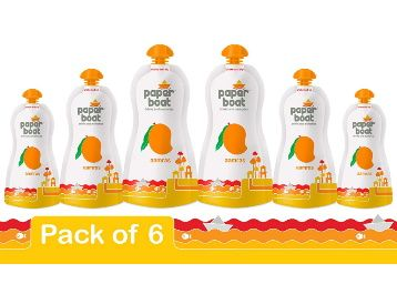Paper Boat Aamras Juice, 200ml (Pack of 6) at Rs. 153 + Free Shipping