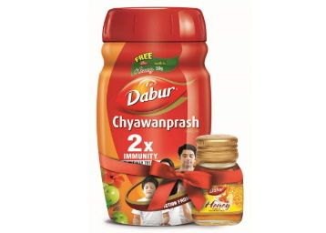 Dabur Chyawanprash 2X Immunity - 1kg with Dabur Honey - 50 g Free At Just Rs. 309