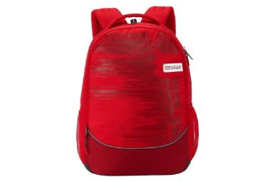 69% off - American Tourister Popin 48 cms Red Casual Backpack at Rs. 799