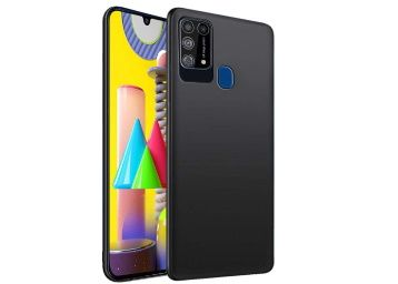 TheGiftKart Imported Matte Soft Back Cover Case for Samsung Galaxy M31 at Rs. 149