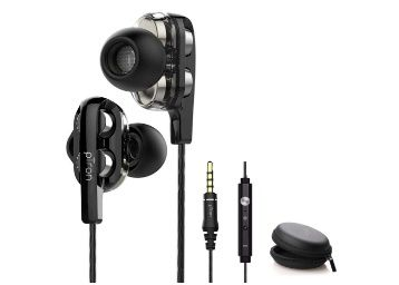 pTron Boom3 Ultima 4D Dual Driver in-Ear Wired Headphones with Mic at Rs. 549