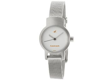 Fastrack Upgrade-Core Analog White Dial Women