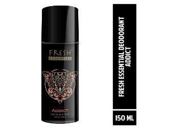 66% off - Fresh Essential Gas Deodorant, Addict, 150 ml At Rs. 79