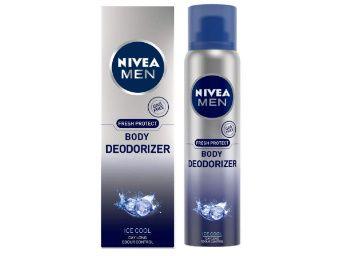 NIVEA Men Deodorant, Ice Cool Deodorizer, 120ml at Just Rs. 125