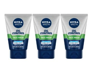 50% off - Nivea Oil Control Face Wash, 100ml (Pack of 3) at Rs. 298