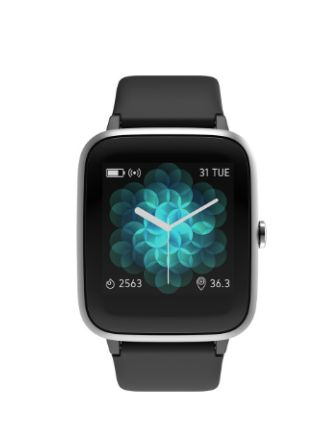 NOISE Black ColorFit Pro 2 Active Smartwatch