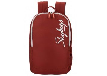 68% off - Skybags Decode 11 Ltrs Red Daypack at Rs. 447