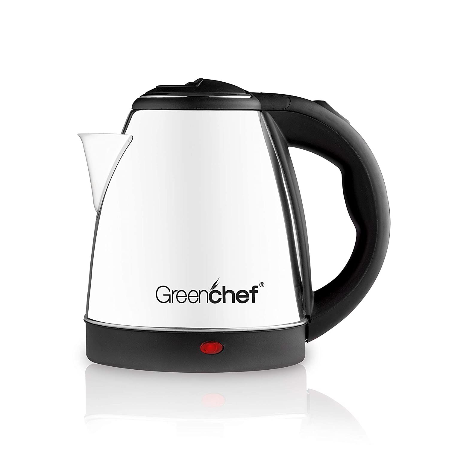 Greenchef Electric Kettle (1.5 L, Silver)