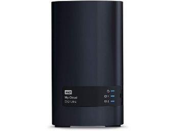 Western Digital My Cloud EX Ultra 2-Bay Diskless Network Attached Storage