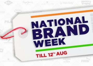 National Brand Week - Flat 50% off on Levi