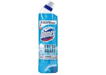 Domex Fresh Guard Ocean Fresh Disinfectant Toilet Cleaner, 750 ml