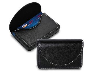 NISUN Leather Pocket Sized Credit Card Holder Wallet for Men & Women