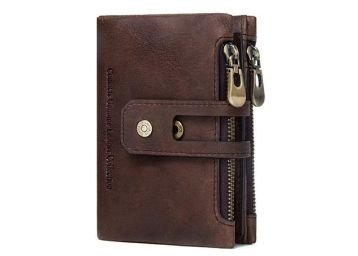 CONTACTS Genuine Premium Leather Wallet