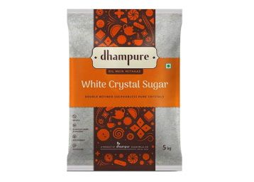 30% off - Dhampure White Crystal Sugar, 5kg at Rs. 219