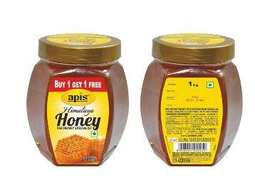 Apis Himalaya Honey, 1kg Each (Buy 1 Get 1 Free) At Rs. 382